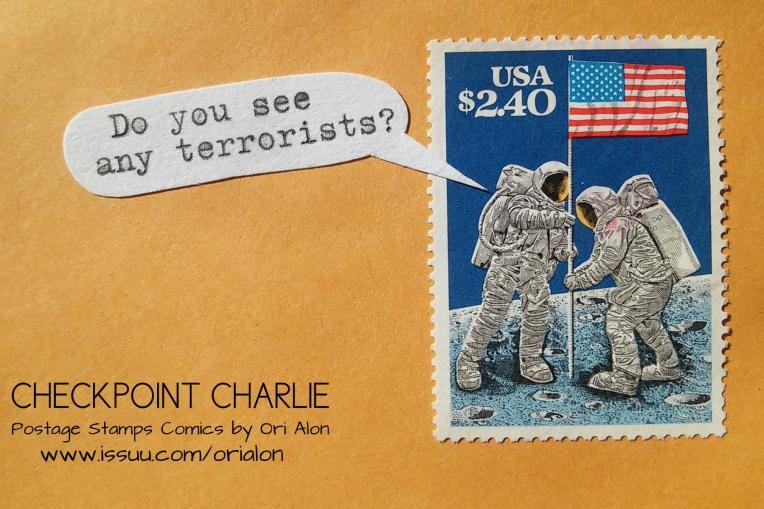 Checkpoint Charlie postcard
